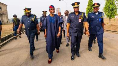 Photo of Images Of Aregbesola's Visit To National Fire Academy, Abuja