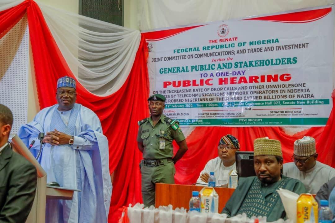 Drop Calls: Telecom Companies Short-changing Nigerians - Senate President