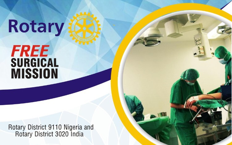 Rotary District 9110 Holds Free Surgical Mission