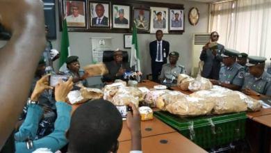 Photo of Customs Intercept $8.6m At Lagos Airport