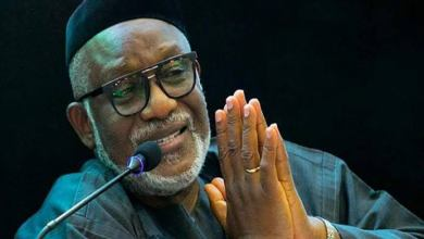 Photo of Group Greets Akeredolu On Third Year Anniversary Celebration