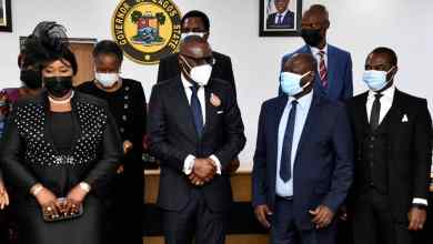 Photo of Lagos Gov Swears-in Two High Court Judges; Urges Judiciary To Remain Symbol Of Equity, Fairness