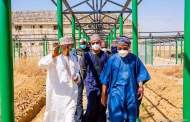 Images Of Aregbesola's Inspection Of Ongoing Construction Of 3000-capacity Correctional Centre In Kano