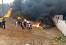 Photo of Just In: Petrol Tanker Explodes In Abeokuta + Videos, Photo