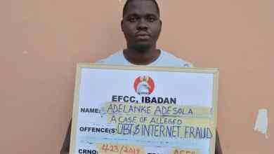 Photo of Sales Rep Bags 18-months Jail Term For Internet Fraud in Ekiti