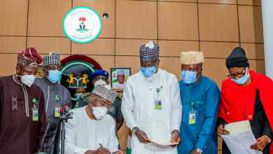Photo of AbdulRazaq Signs Bill Repealing ex-Govs' Pension Into Law; Assents To 2021 Budget Bill