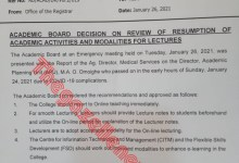 Photo of #Covid-19: YabaTech Sends Students Home; Resort To Online Lecture; Set To Fumigate School