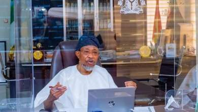 Photo of Images Of Aregbesola's Virtual First Turning Of Sod For NCoS' Shoe/Garment & Tannery/Leather Factories In Aba, Kano