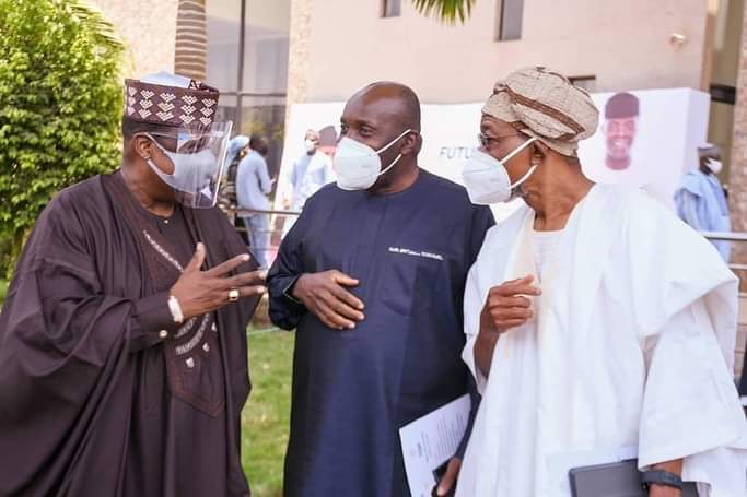 In Pictures, Aregbesola At Public Lecture In Honour Of Osinbajo