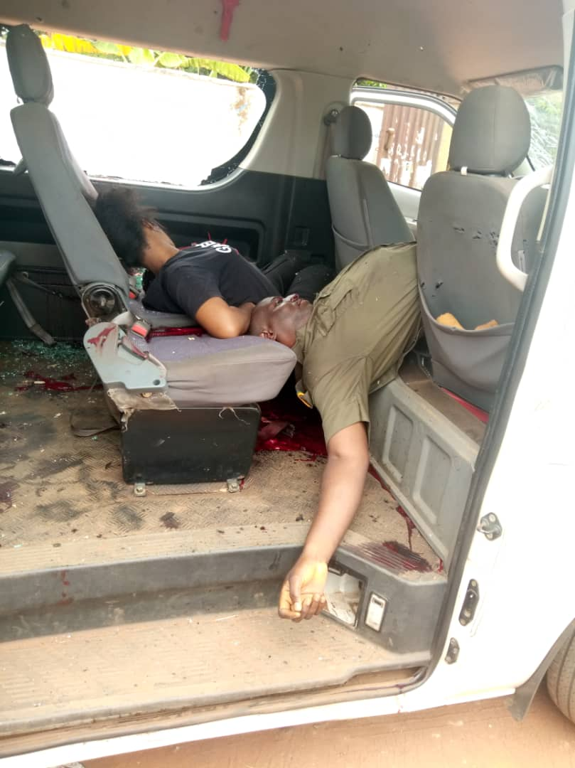 Prisoner Escapes As Gunmen Killed Escorts After Attacking Correctional Service Vehicle in Anambra