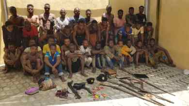 Photo of Lagos Police Arrest Notorious Cultist Oju, Wives Of Igbokuta, Emure Aye Cult Leaders, 53 Others + Photos