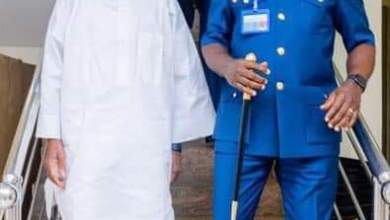 Photo of In Pictures, Aregbesola Hosts Chief Of Air Staff, Air Marshall Isiaka Oladayo Amao