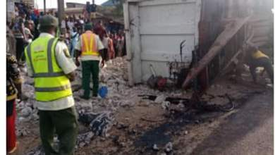 Photo of Covenant University Lecturer Crushed To Death By Truck Minutes After Dropping Children In School + Photos