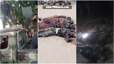 Photo of Troops Eliminate 11 Boko Haram Terrorists In Gwoza