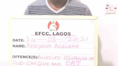 Photo of EFCC Arrests Man Who Fraudulently Collected N800m From Eco Bank + Photo