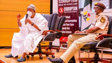 Photo of FG Reviews Passport Processing Time to Six Weeks, Aregbesola Declares Zero-tolerance For Touting At Passport Offices; Photos + Video
