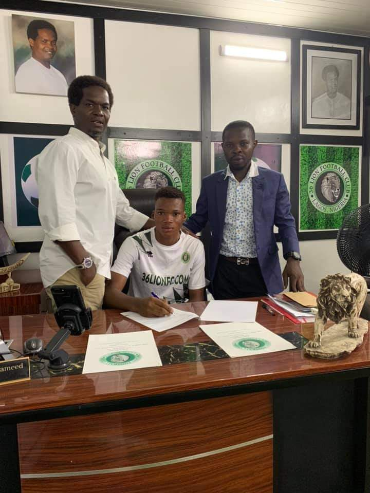 36 Lion FC Sign Another Top Talent As Waris Joins From Team360 FC