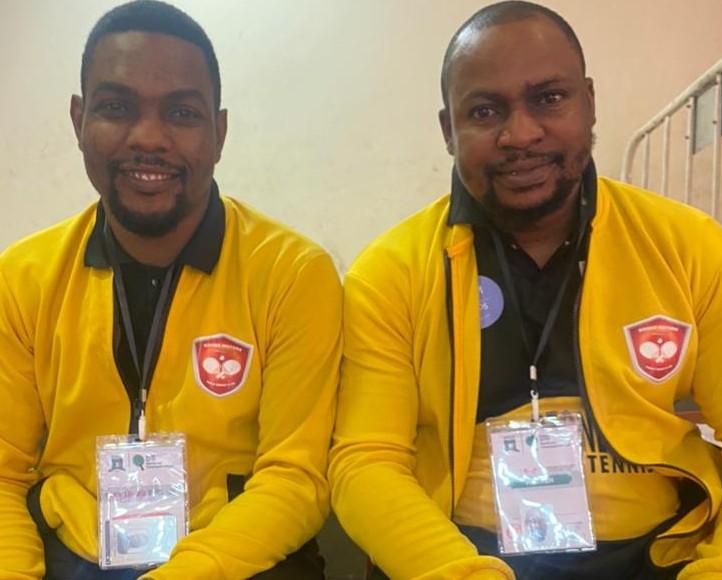 NTTF 2021: Improve More On Sport , Ozone Motors Table Tennis Club Founder, Taiwo & Idowu Ayodele-Eletu, Tells Govt