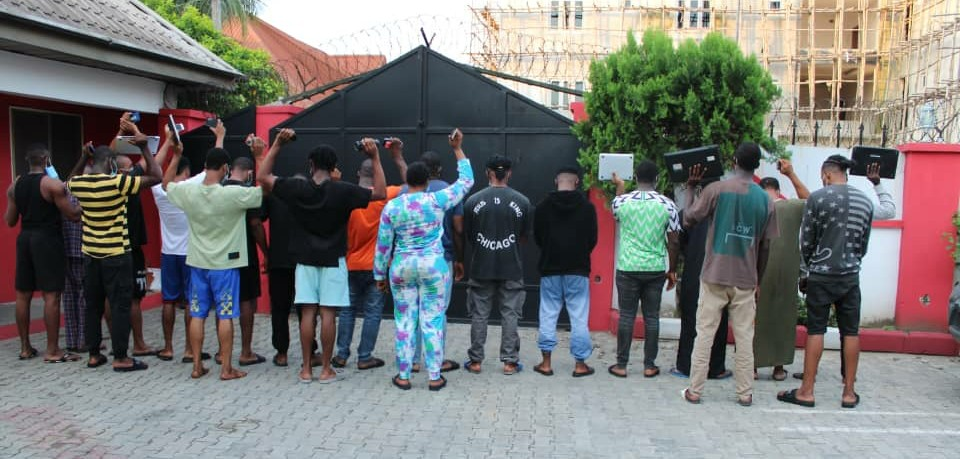 Movie Producer, 19 Others Arrested For 'Yahoo' Offence In Calabar