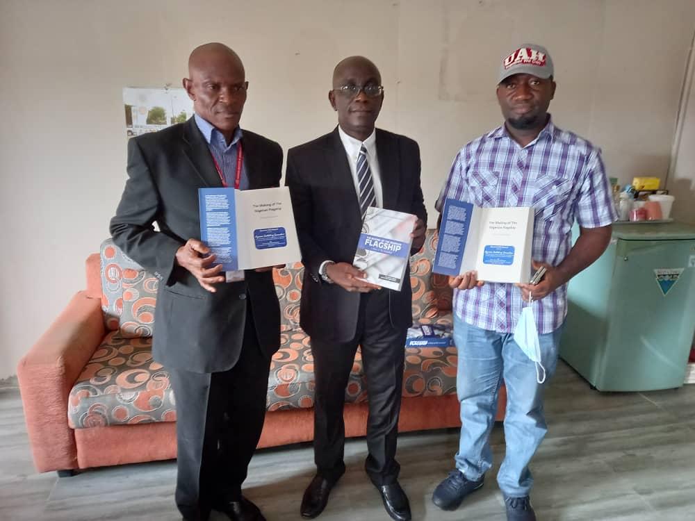 Ifako-Ijaye LG Vice Chairman Donates Flagship Book to NIJ