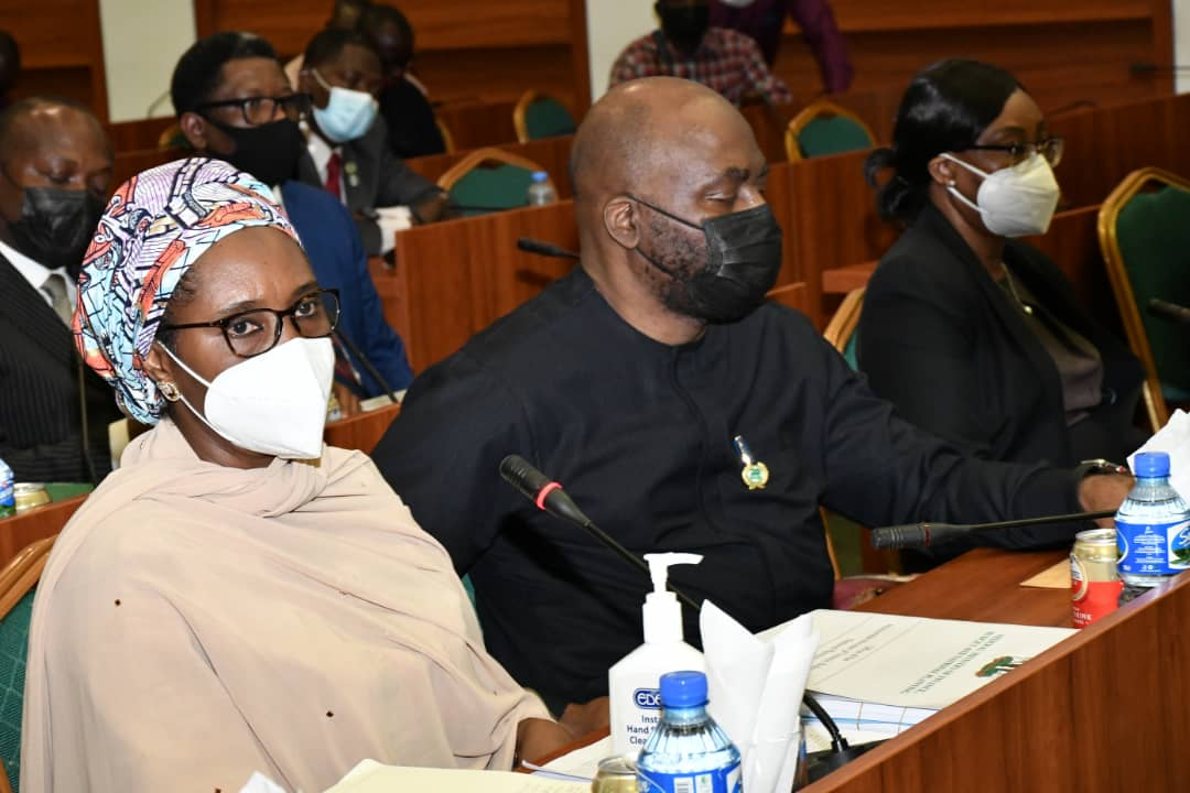 In Pictures: Finance Minister, ICPC Boss, AGF Appear Before Reps Ad-hoc Committee On Recovered Loots