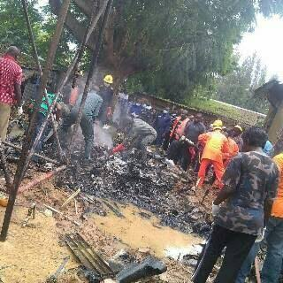 Revealed: Those Who Died Alongside With Chief Of Army Staff In Kaduna Plane Crash