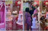 Seyi Tinubu Throws Pink Birthday Bash For Daughter At 4