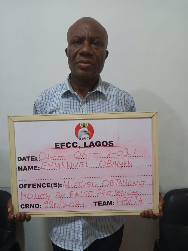 EFCC Arrests Two For Alleged N77.7m, N24.6m Fraud