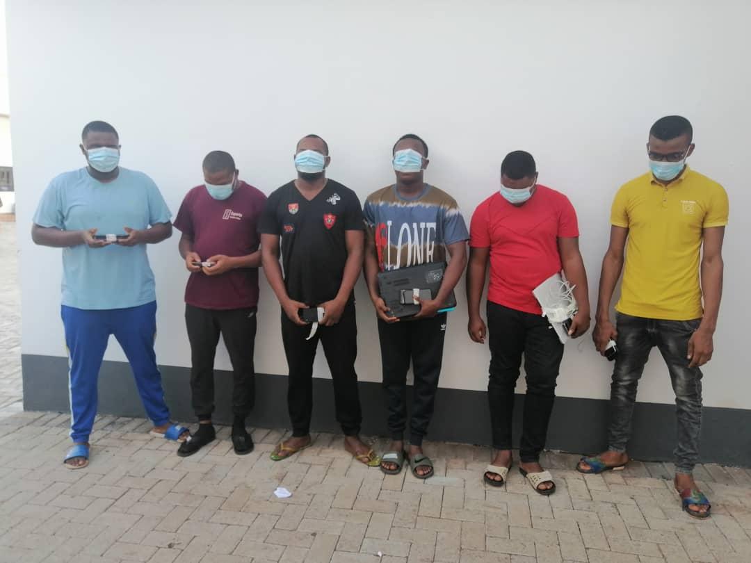 EFCC Enugu Arrests Six For 'Yahoo' Offence In Enugu