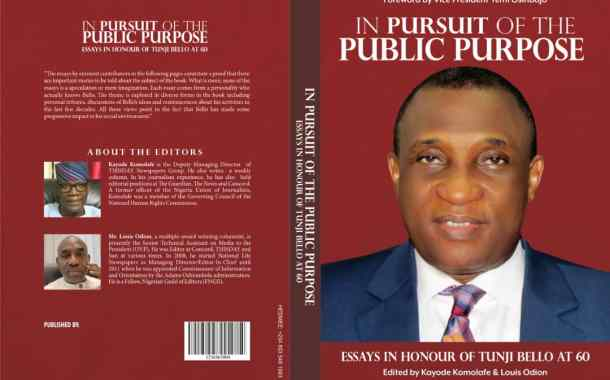 Osinbajo, Tinubu, Fashola, Top Editors, Others Extol Tunji Bello in New Book