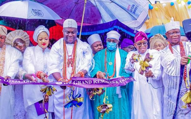 In Pictures, Oyetola Commissions Ooni's Ife Grand Resort