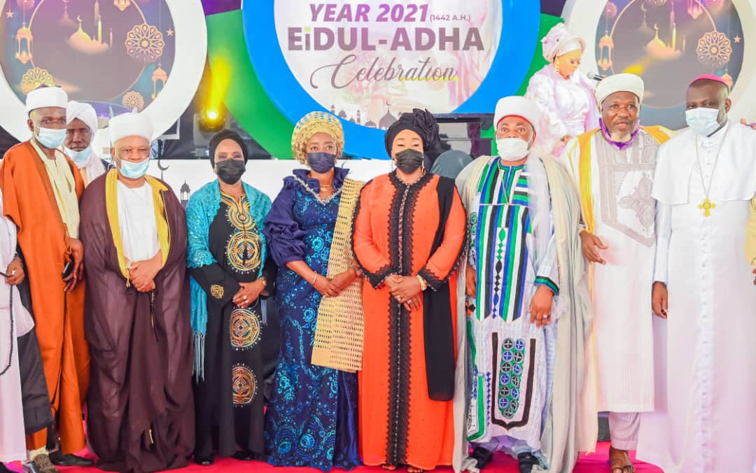 Uphold Ideals Of Eid-el-Kabir, Sanwo-olu's Wife Urges Muslims;Commends Peaceful Conduct Of Local Government Elections