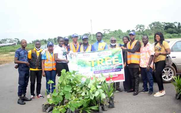 In Pictures, Ake Royal Rotary Club's Tree Planting Exercise In Abeokuta