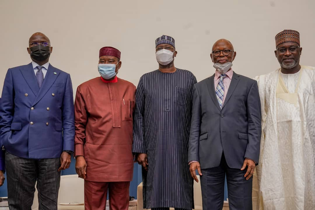 In Pictures, Boss Mustapha, Fashola, Others At Townhall Meeting On Infrastructure In Abuja