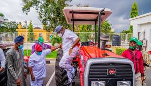 NALDA Supports Ekiti Farmers With Land Clearing, Tractors, Others; Fayemi Commends Buhari's Stride In Agriculture