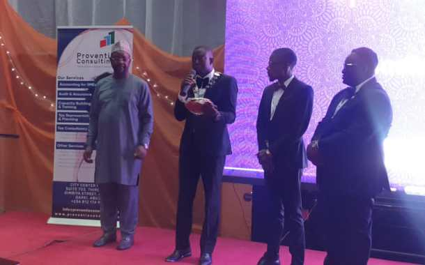 Youth, Sports Development: JCI Honours Sunday Dare With Special Recognition Award