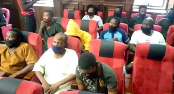 Igboho's Associates Fail To Meet Bail Conditions, Still In DSS' Cells
