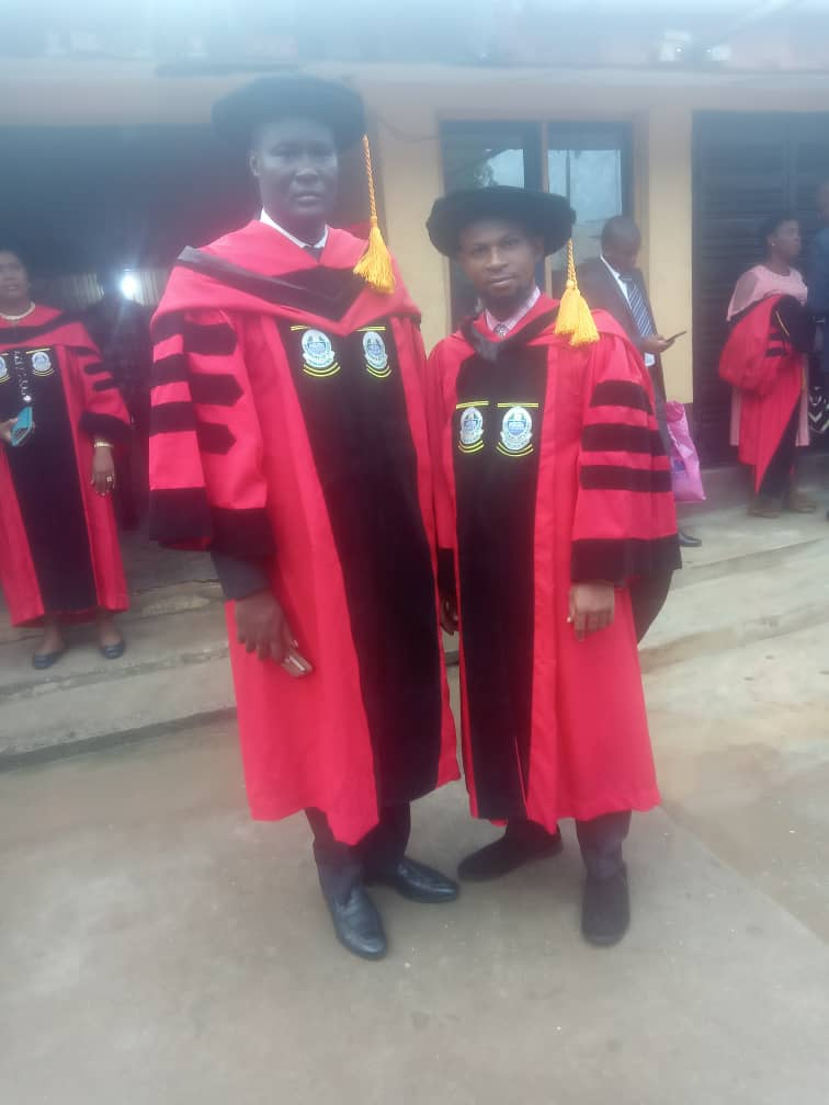 In Pictures, Dr Abdul Azeez Anjorin Bags PhD In Medical Microbiology
