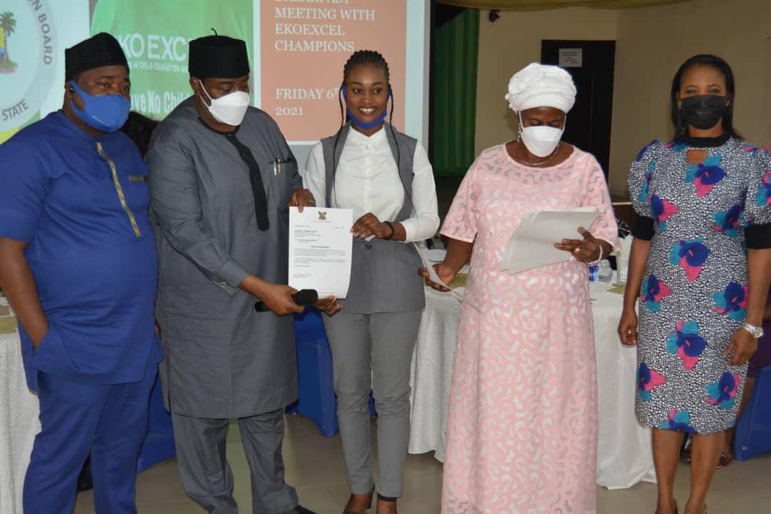LASUBEB Hosts EKOEXCEL Outstanding Teachers