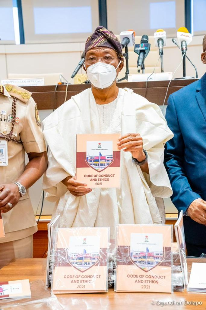 Aregbesola To Immigration Officers: Always Display Integrity, Transparency, Courtesy In Your Official Conduct