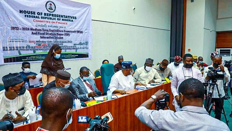 In Pictures, Faleke, Finance Committee Members At 2022-2024 MTEF, FSP Interactive Session With MDAs