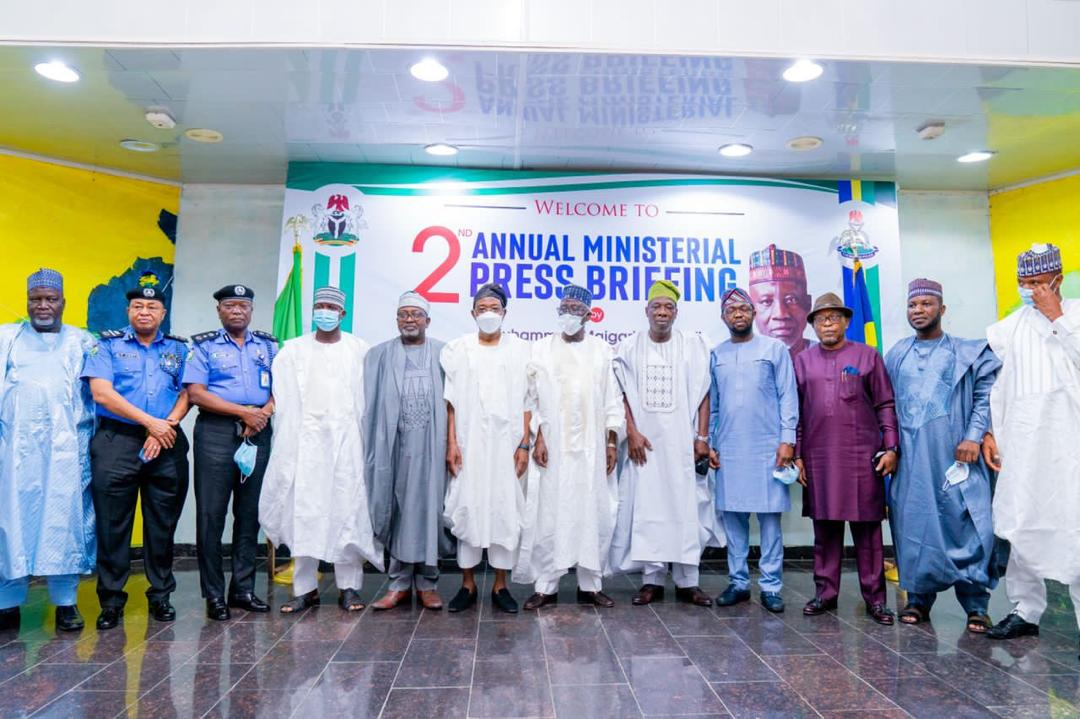 In Pictures, Aregbesola At 2nd Annual Ministerial Briefing On Internal  Security In Abuja