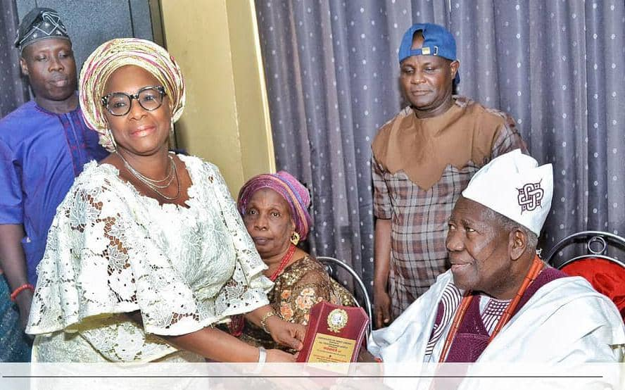 Rep Akande-Sadipe Congratulates Olubadan At 93