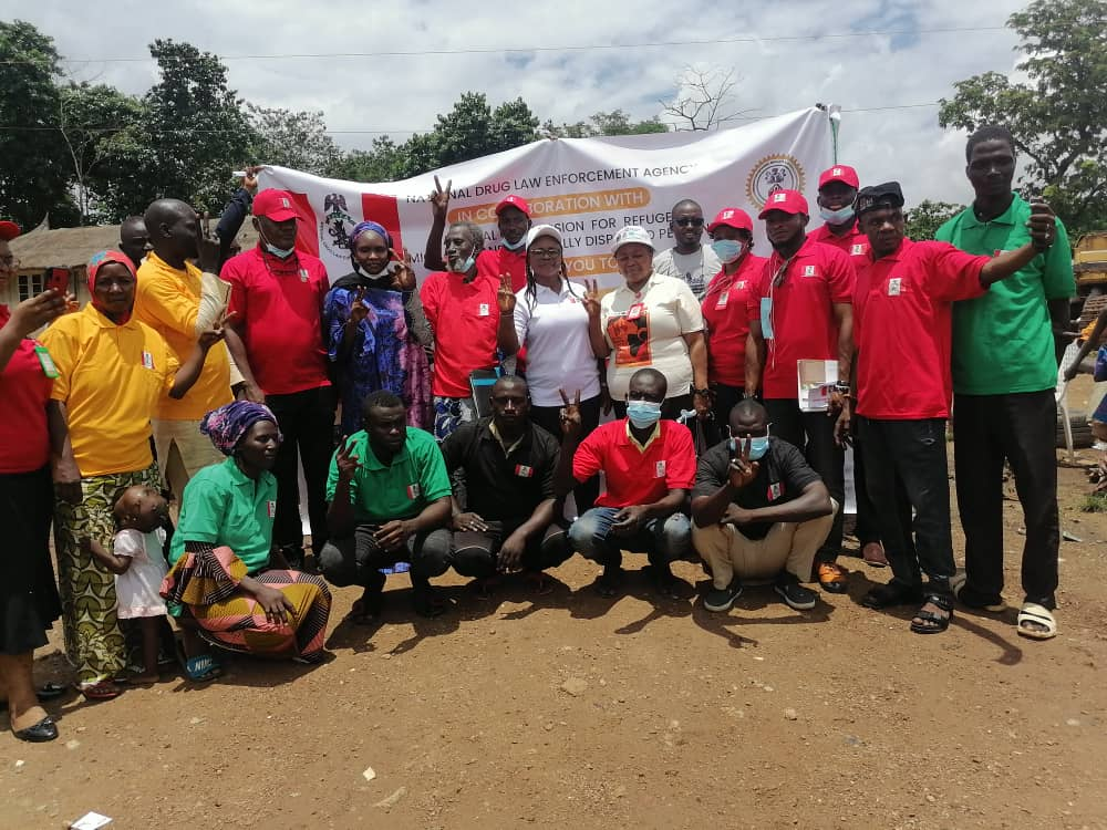 NDLEA Takes Campaign Against Drug Abuse To Abuja IDPs' Camp