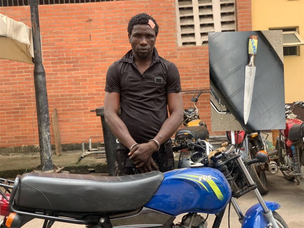 Taskforce Arrests Robbery Suspect, Serves Removal Notice On Owners Of Structures, Kiosks On Owode Road's Set-back