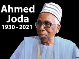 A Courageous, Fearless Administrator: Tribute To Ahmed Joda