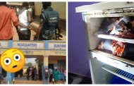 Police Arrest Popular Footballer With Three Human Heads Found In His Refrigerator + Photos