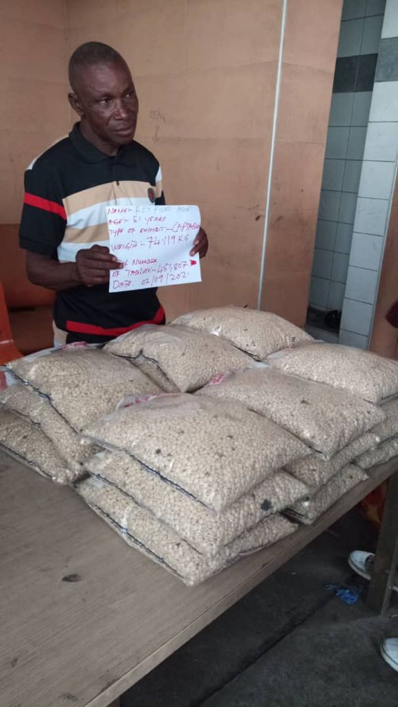 Watch Video As NDLEA Intercepts N6bn Insurgents' Drugs In Lagos Port; Marwa Gives Details Of Operation + Photos