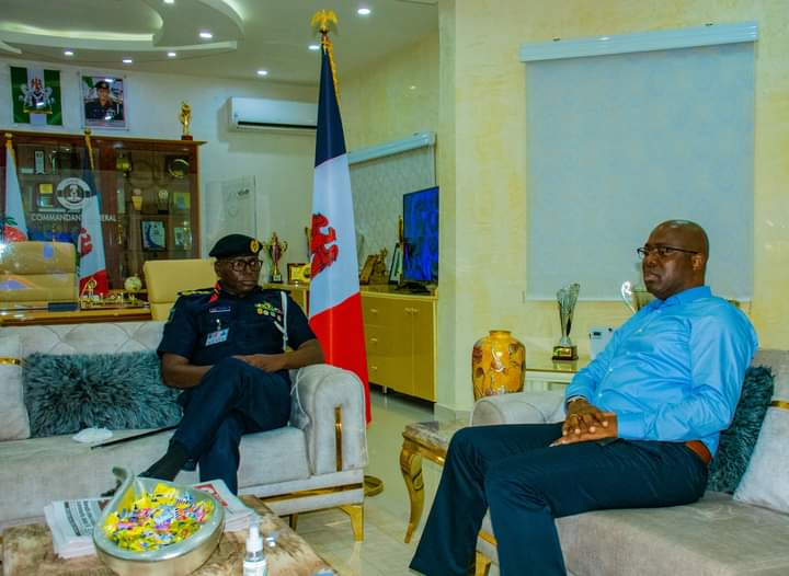 Makinde Promises NSCDC Support To Tackle Criminalities In Oyo
