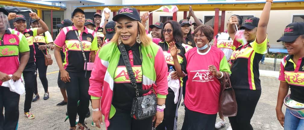 Siju Iluyomade Leads Prominent Leaders, Celebrities, Others In Road Walk